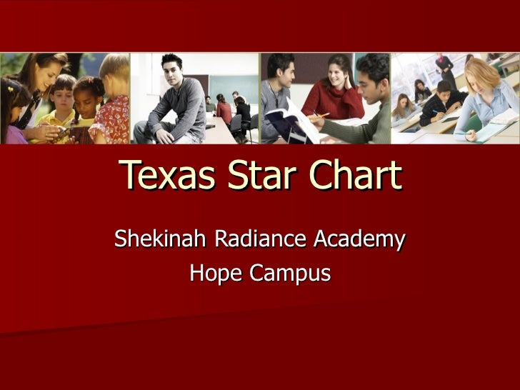 Texas Star Chart Shekinah Radiance Academy Hope Campus