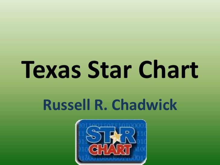 Texas Star Chart<br />Russell R. Chadwick<br />