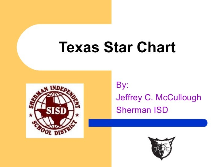 Texas Star Chart By:  Jeffrey C. McCullough Sherman ISD