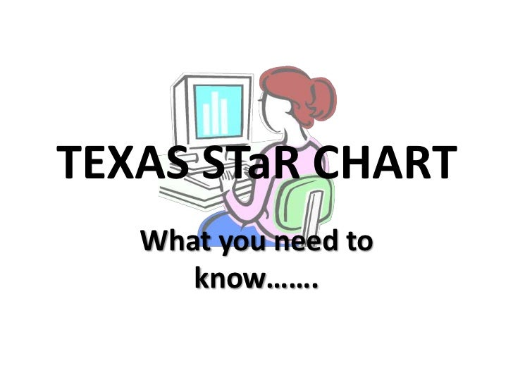 TEXAS STaR CHART <br />What you need to know…….<br />