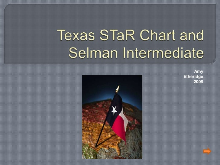Texas STaR Chart and Selman Intermediate<br />                                                                            ...