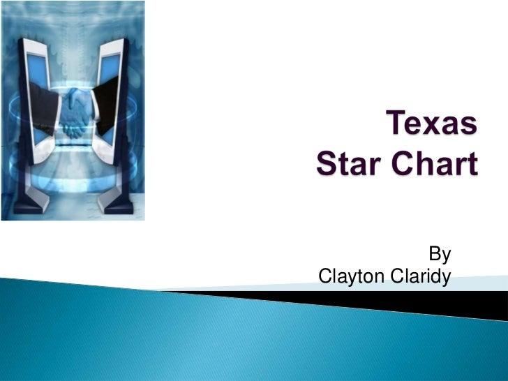 Texas Star Chart <br />By<br />Clayton Claridy<br />