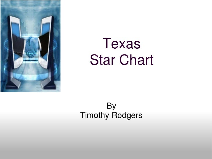 Texas Star Chart <br />By<br />Timothy Rodgers<br />