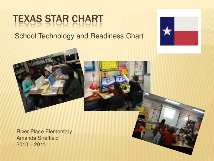Texas Star chart<br />School Technology and Readiness Chart<br />River Place Elementary<br />Amanda Sheffield<br />2010 – ...