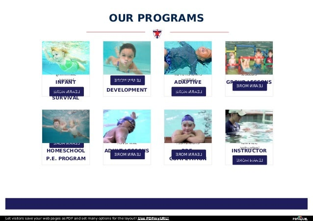 Texas swim academy Slide 2