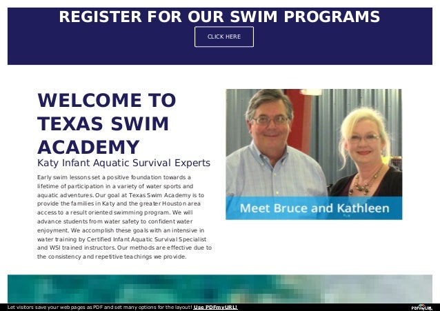 Texas swim academy Slide 3