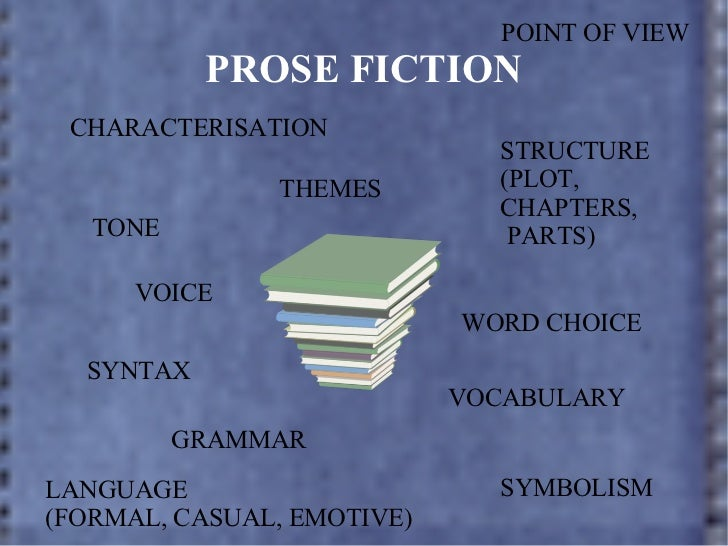 text analysis presentation ppt prose fiction characterisation