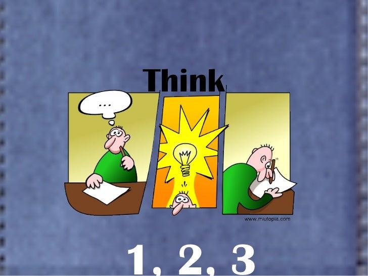 Think 1 2 3 1, 2, 3