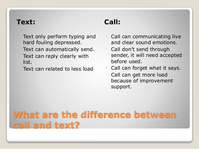 Call text and Get TextNow