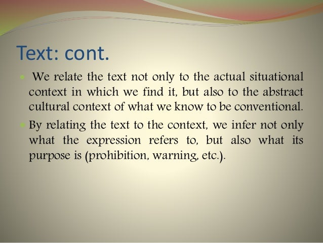 Text : Definition, Elaboration and Examples Slide 3