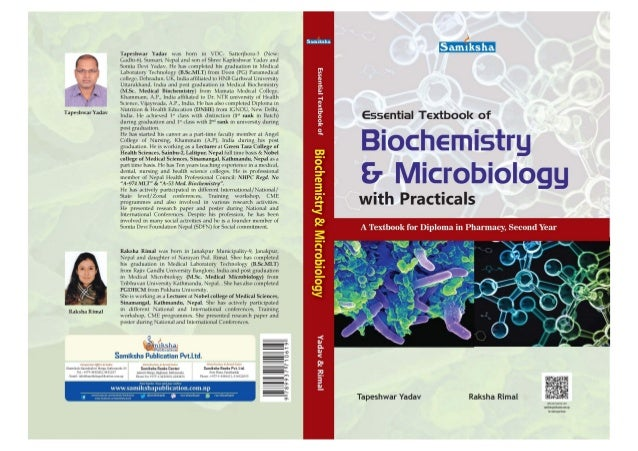 Textbook of Biochemistry and Microbiology cover