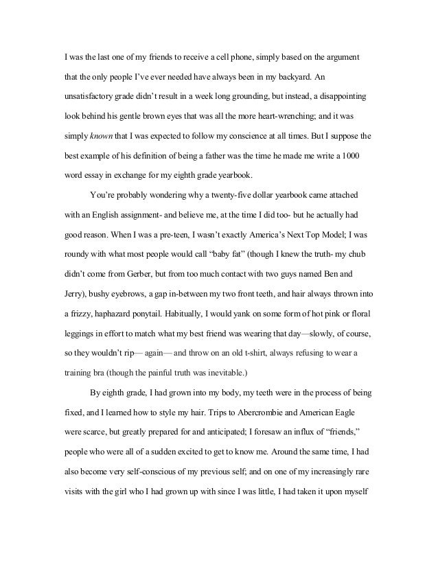 business narrative essay