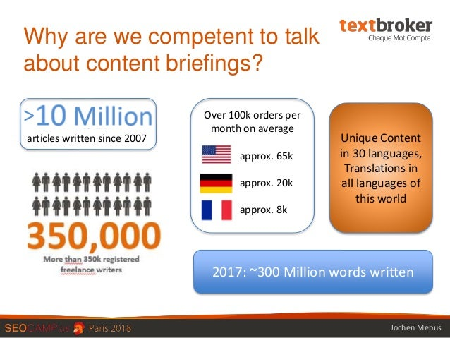 How a briefing can ruin or win your content results Slide 2