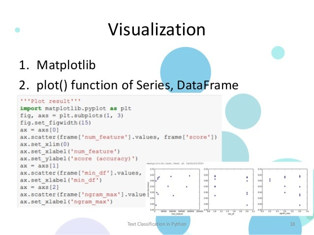 Text Classification in Python – using Pandas, scikit-learn