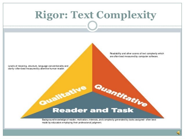 Text complexity gt