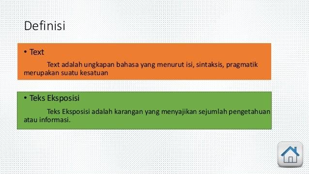 Text Eksposisi (Definis, Ciri-Ciri, Jenis)