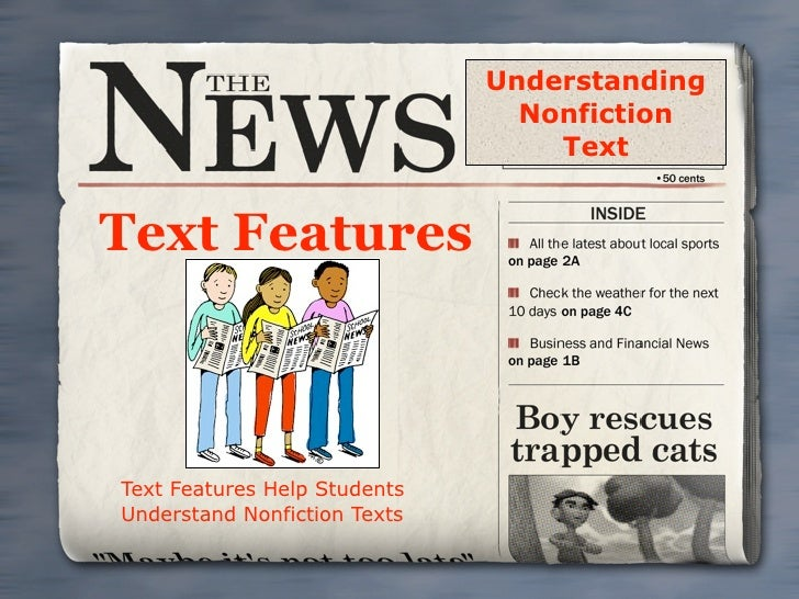 Text Features Presentation