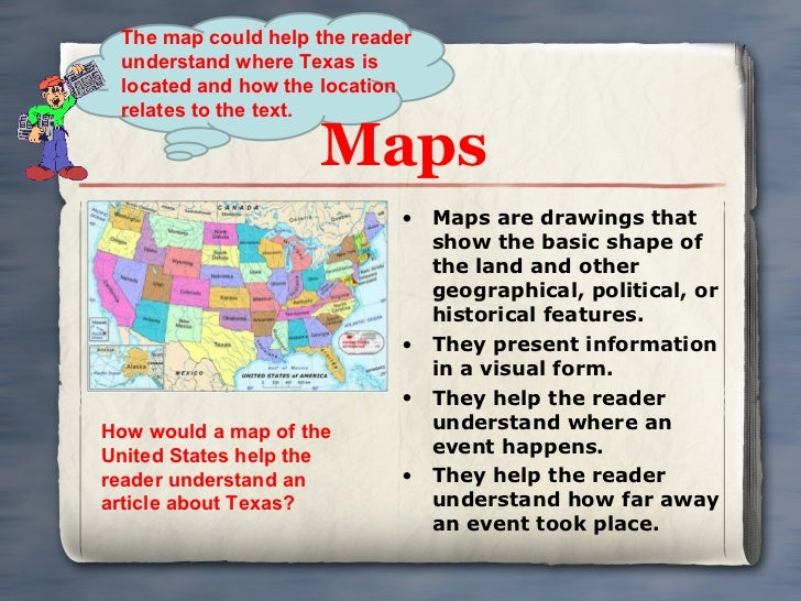 Text Features - How do maps help us