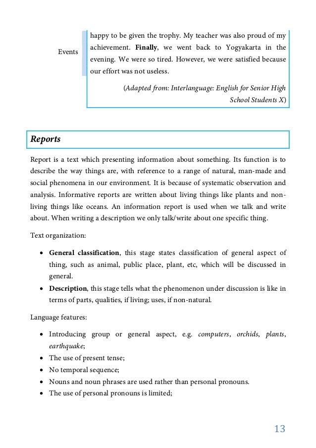 bentuk teks dan ciri cirinya  17