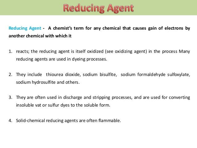 RESERVING AGENT - Also called restraining agents; a dye bath auxiliary that is typically used to prevent one fibre in a 1....