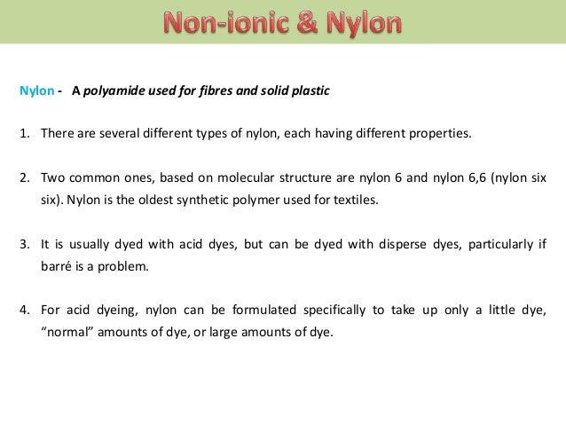 Washfast On Nylon Than Disperse