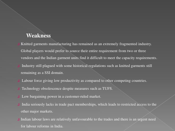 Textile Industry essay