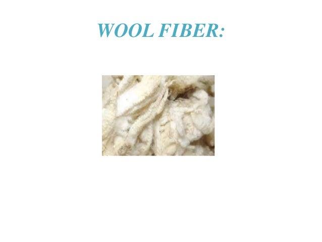 WOOL FIBER: