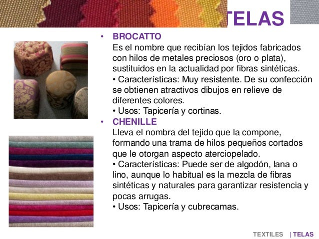 Textiles - Nombres de telas para cortinas ...