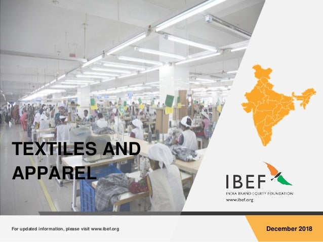 Textiles and Apparel Sector Report - December 2018