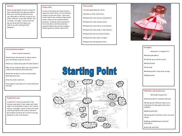 gcse textiles coursework folder examples aqa
