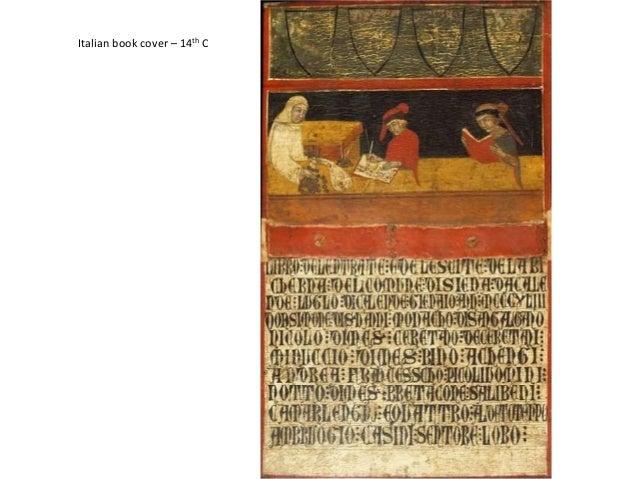 Italian book cover – 14th C