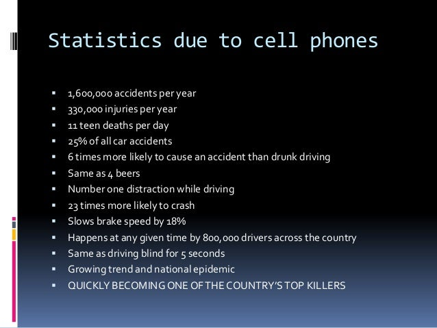 Texting And Driving Accidents Statistics