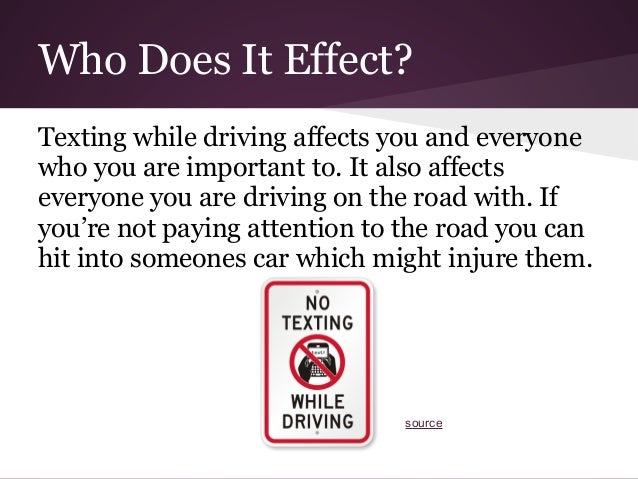 The dangerous psychology of texting while driving
