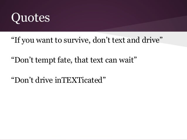 Texting And Driving Quotes Inspiration Texting While Drivingsarah Khalifa