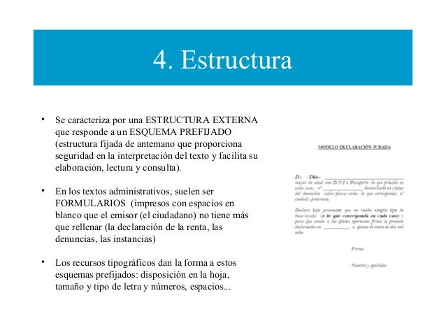 Los Textos Jurídicos Y Administrativos