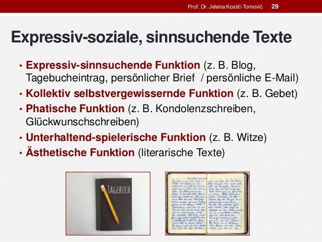 Textsorten: Begriff und Typologie