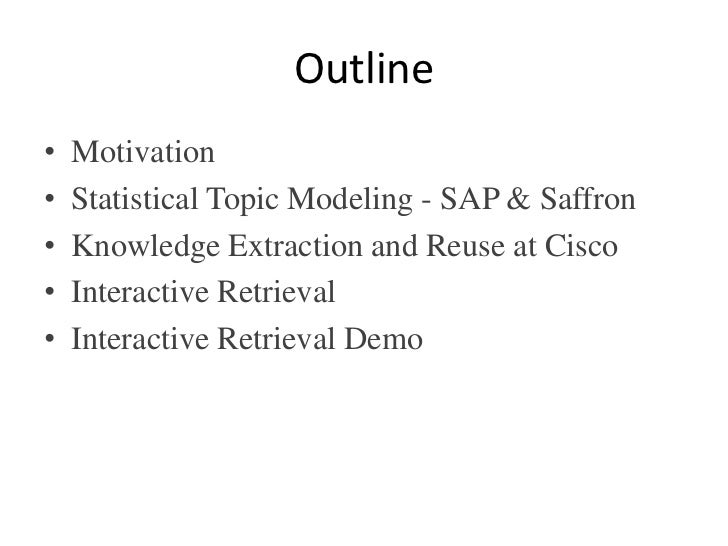 Dynamic Search Using Semantics & Statistics Slide 2