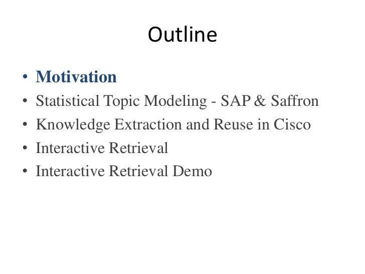 Dynamic Search Using Semantics & Statistics Slide 3