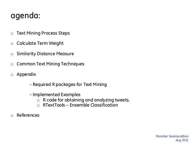 Text Mining Analytics 101 Slide 2