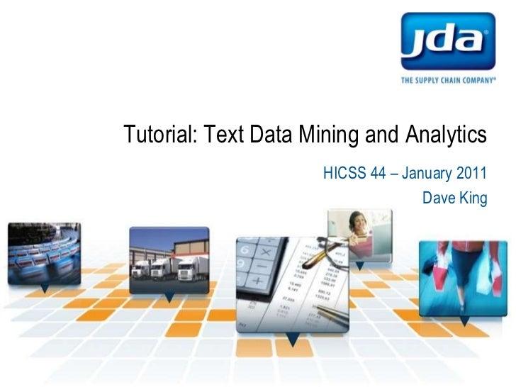 Text mining and analytics   v6 - p1