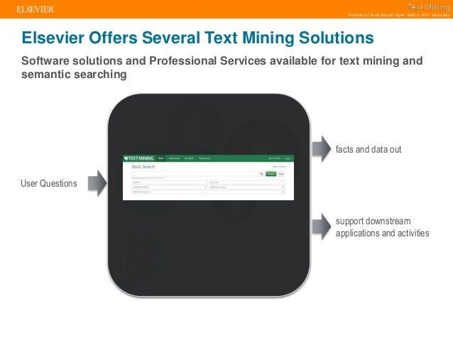Text mining full text for molecular targets