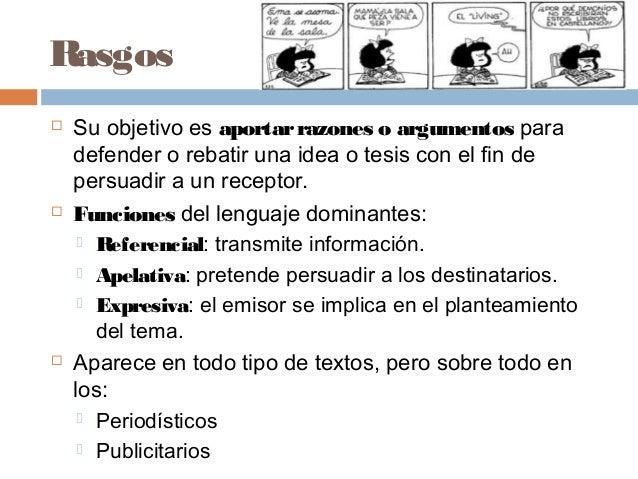 Texto argumentativo Slide 3