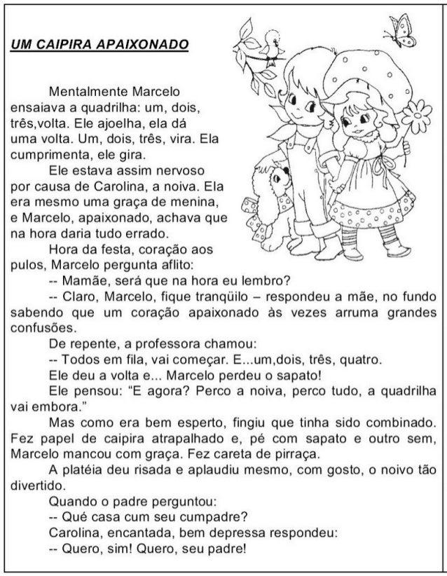 Texto   festa junina para 4 ano um caipira apaixonado copy