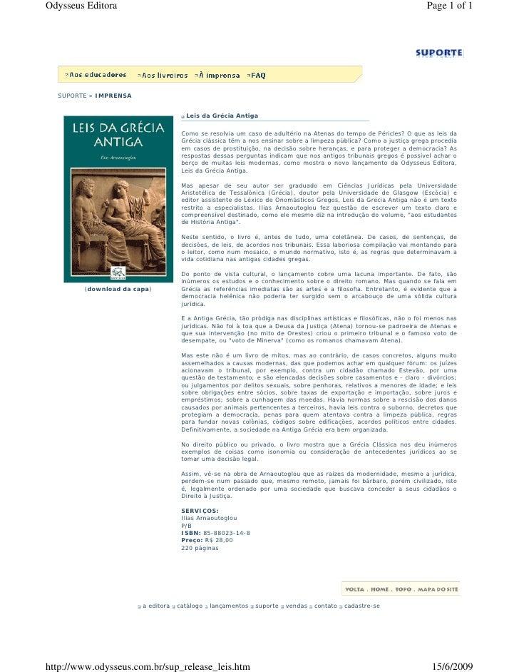 Odysseus Editora                                                                                                     Page ...