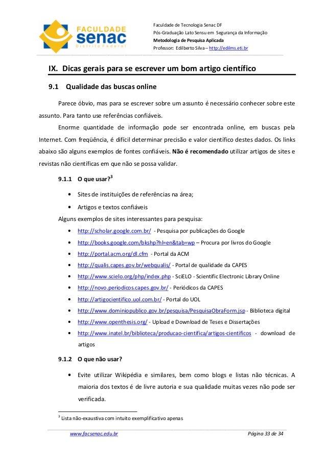 Sites para pesquisa de artigos