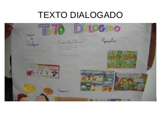 TEXTO DIALOGADO