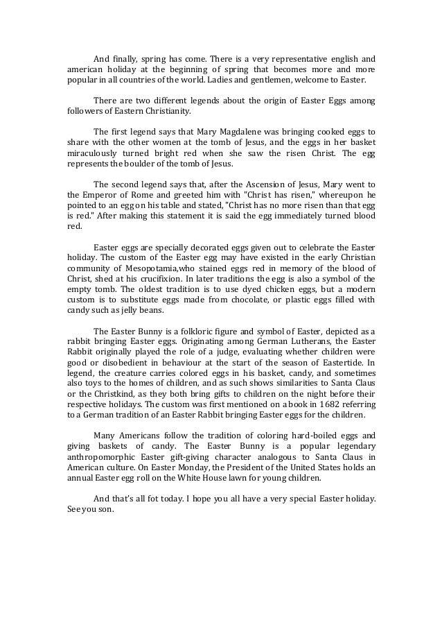 Texto Easter Mrs Robinson inglés y español