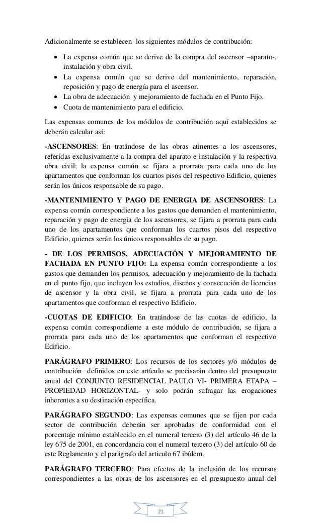 Texto Final Del Reglamento Modificatorio 2015 Pdf