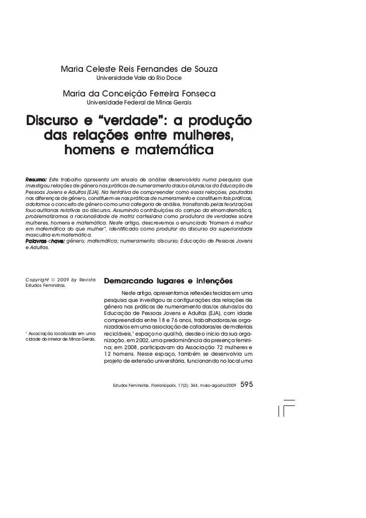 Maria Celeste Reis Fernandes de Souza                                      Universidade Vale do Rio Doce                  ...