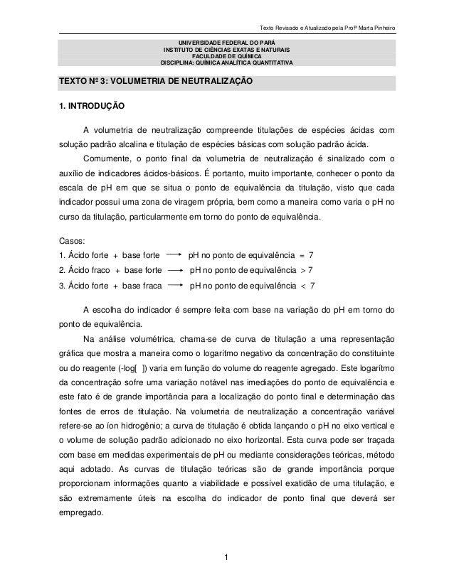 Texto Revisado e Atualizado pela Profª Marta Pinheiro1UNIVERSIDADE FEDERAL DO PARÁINSTITUTO DE CIÊNCIAS EXATAS E NATURAISF...